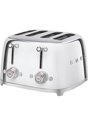 Smeg Toaster »TSF03SSEU«, 4 kurze Schlitze, 3000 W kaufen