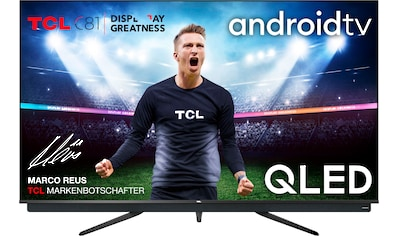 TCL 55C815 QLED - Fernseher (139 cm / (55 Zoll), 4K Ultra HD, Android TV kaufen