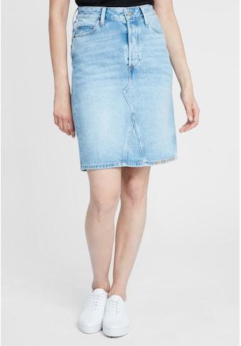 Cross Jeans® Jeansrock »Ellie«, Leicht verwaschen kaufen