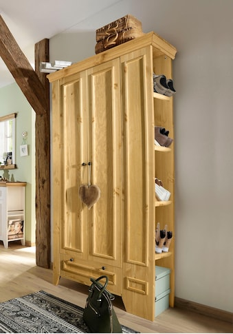 Home affaire Garderobenschrank »Skandinavia«, aus massiver Kiefer kaufen