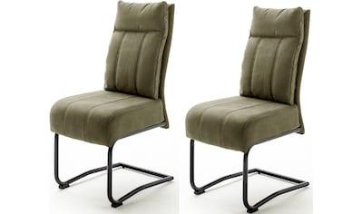 MCA furniture Freischwinger »Azul«, 2er Set, mit Taschenfederkern, Stuhl bis 120 Kg belastbar kaufen