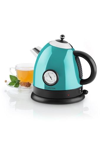 Klarstein Wasserkocher Teekessel 1,5l 2200W Thermometer »Aquavita« kaufen