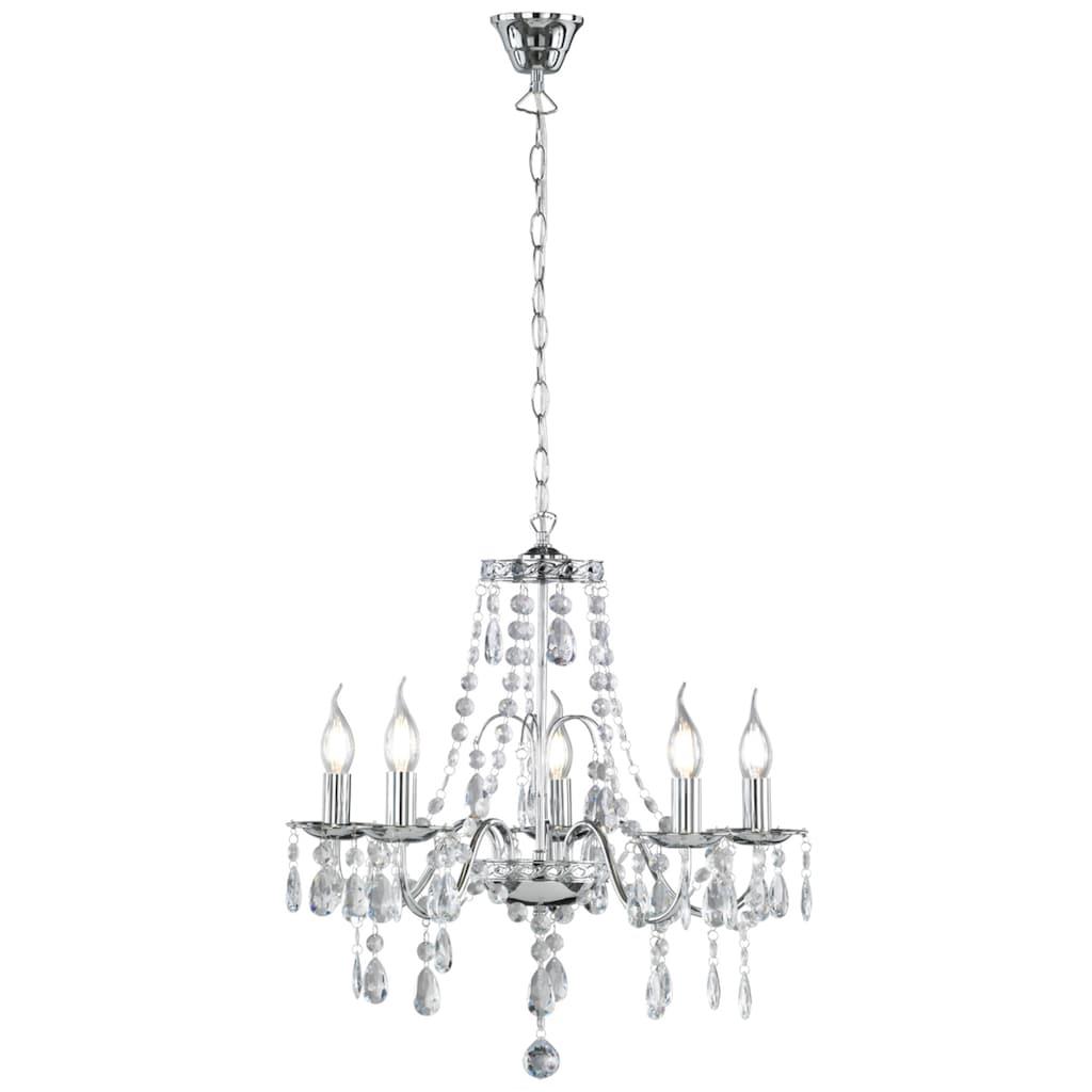 TRIO Leuchten Kronleuchter »Baroque«, E14, Hängeleuchte, Pendellampe, Pendelleuchte, Leuchtmittel tauschbar