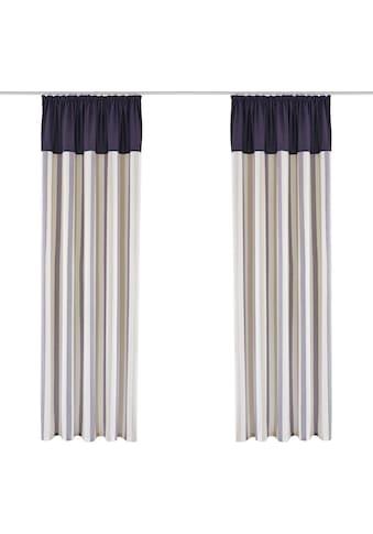 Vorhang, »Milan«, Home affaire, Kräuselband 1 Stück kaufen