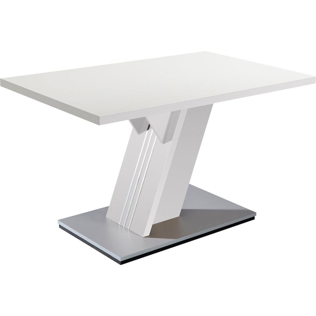 SCHÖSSWENDER Esstisch »Padua«, modernes Design, stabiles Gestell