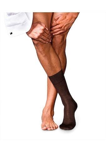 FALKE Socken »No. 6 Finest Merino & Silk«, (1 Paar), mit Merinowolle & Seide kaufen