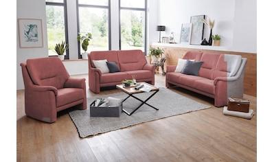 VILLA BECK Polstergarnitur »Como«, (3 tlg.), bestehend aus 3-Sitzer, 2-Sitzer und Sessel kaufen