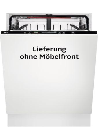 AEG vollintegrierbarer Geschirrspüler, 10,5 Liter, 13 Maßgedecke kaufen
