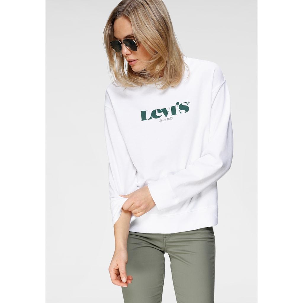Levi's® Sweatshirt »Graphic Standart Crew«, mit großem Logo-Druck