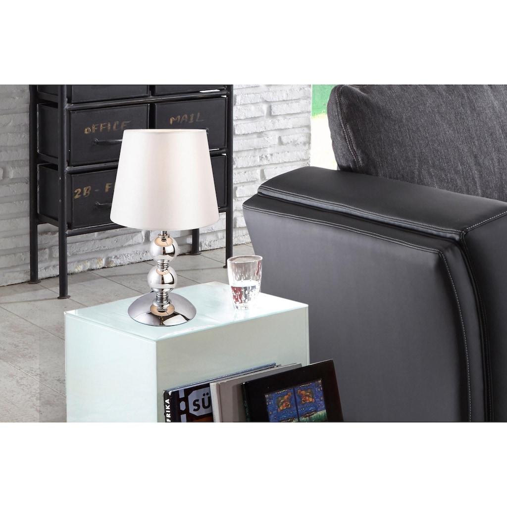 Nino Leuchten Tischleuchte »BEA«, E14, chromfarbene Tischlampe