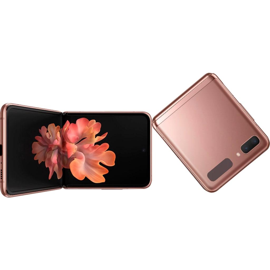 """Samsung Smartphone »Galaxy Z Flip 5G«, (17,01 cm/6,7 """", 256 GB, 12 MP Kamera), 3 Jahre Garantie"""