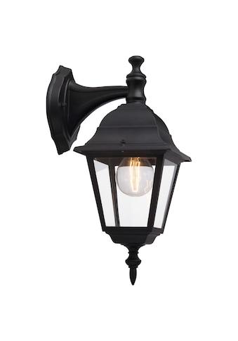 Brilliant Leuchten Außen-Wandleuchte, E27, Newport Außenwandleuchte hängend schwarz kaufen