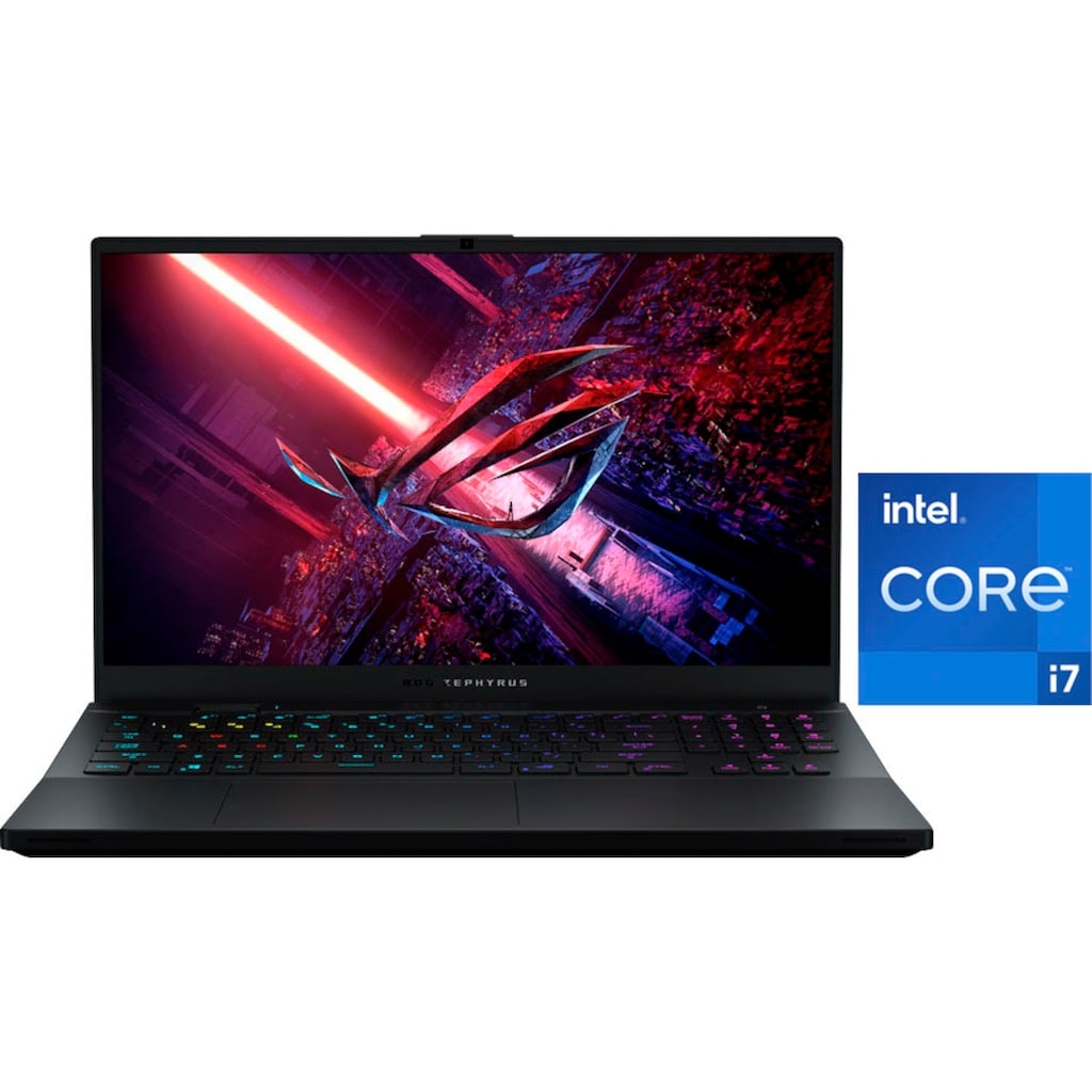 "Asus Gaming-Notebook »GX703HR-K4054T«, (43,94 cm/17,3 "" Intel Core i7 RTX,™ 3070\r\n 1000 GB SSD), Kostenloses Upgrade auf Windows 11, sobald verfügbar"