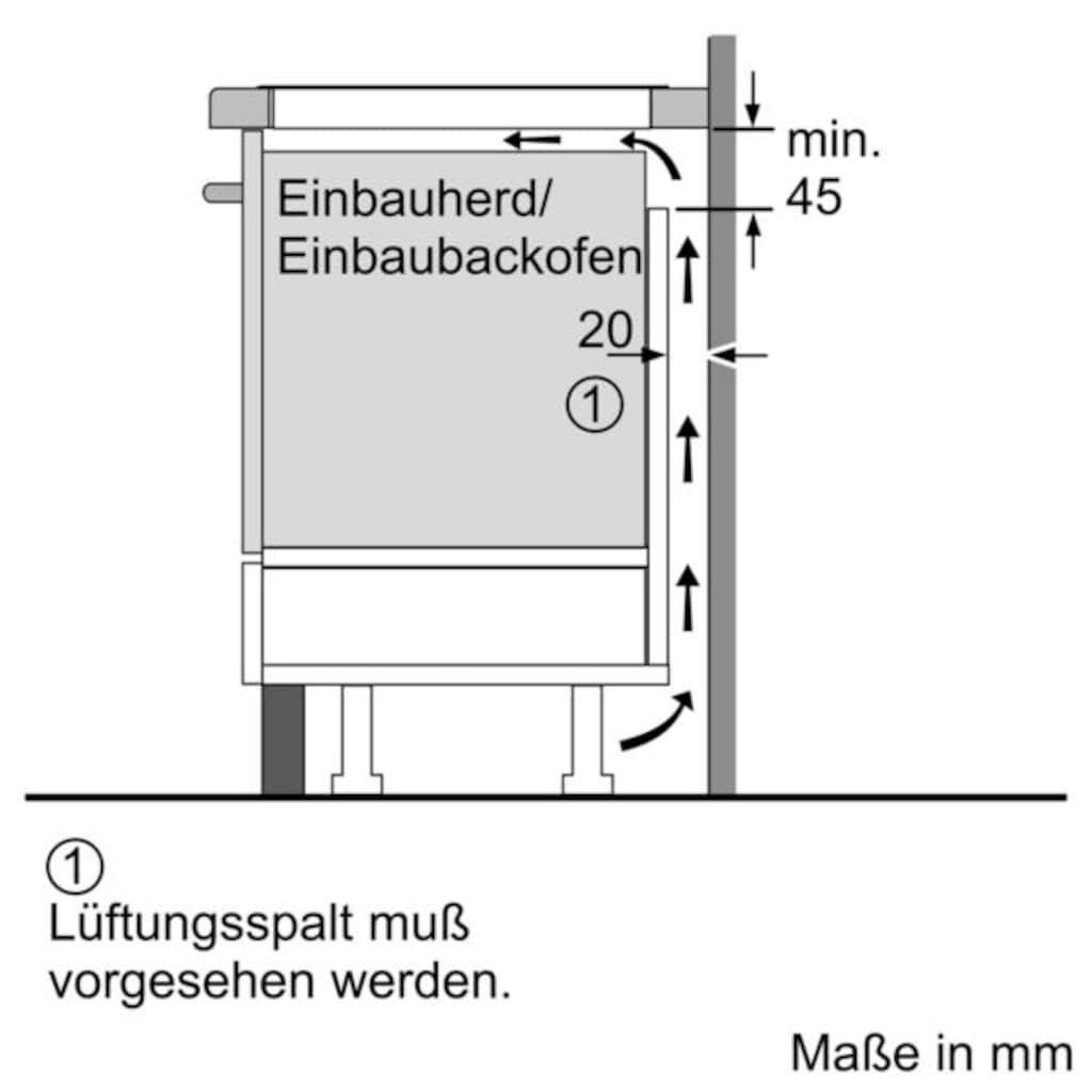 SIEMENS Induktions Herd-Set »EQ521IA00«, HE517ABS1, (Set), mit cookControl 10