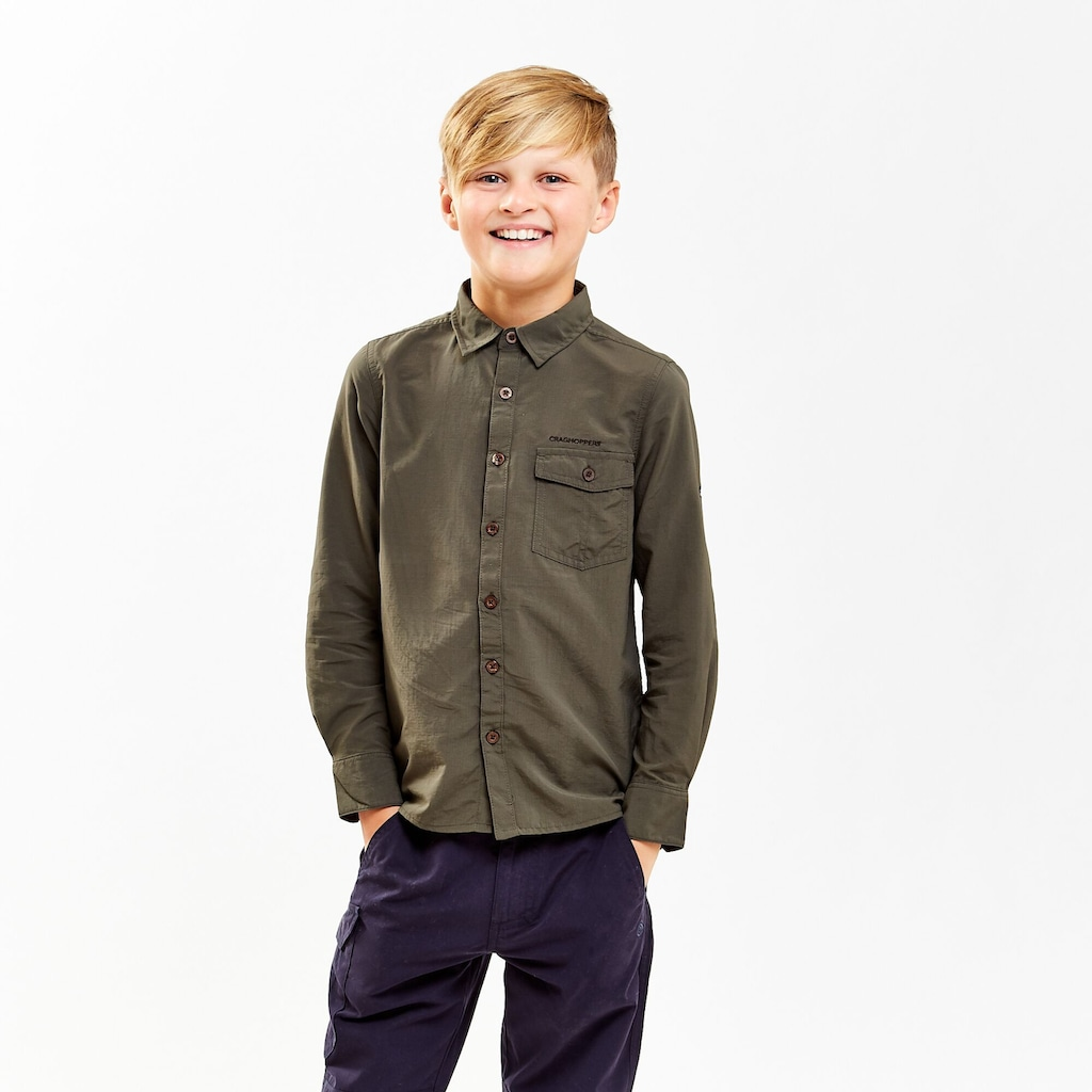 Craghoppers Langarmhemd »Kinder NosiLife Emerson«