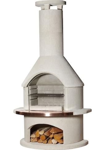 Buschbeck Grillkamin »Rondo«, BxTxH: 115x70x208 cm kaufen