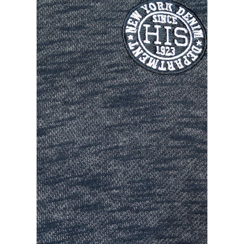 H.I.S Kapuzensweatjacke, mit markanten Nähten