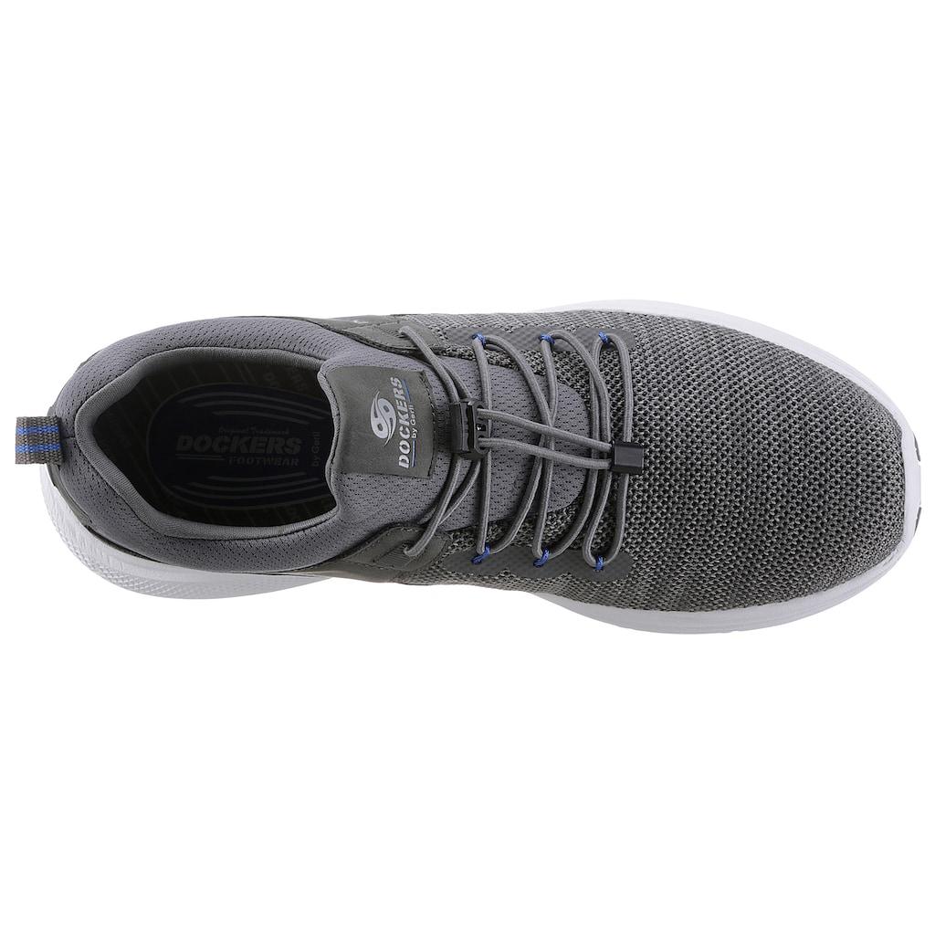 Dockers by Gerli Slip-On Sneaker, mit Gummizug und Schnellverschluss