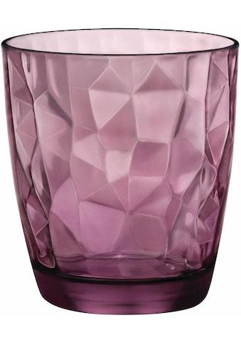 Bormioli Rocco Whiskyglas »Diamond«, (Set, 6 tlg.), effektvolle Struktur, 6-teilig kaufen