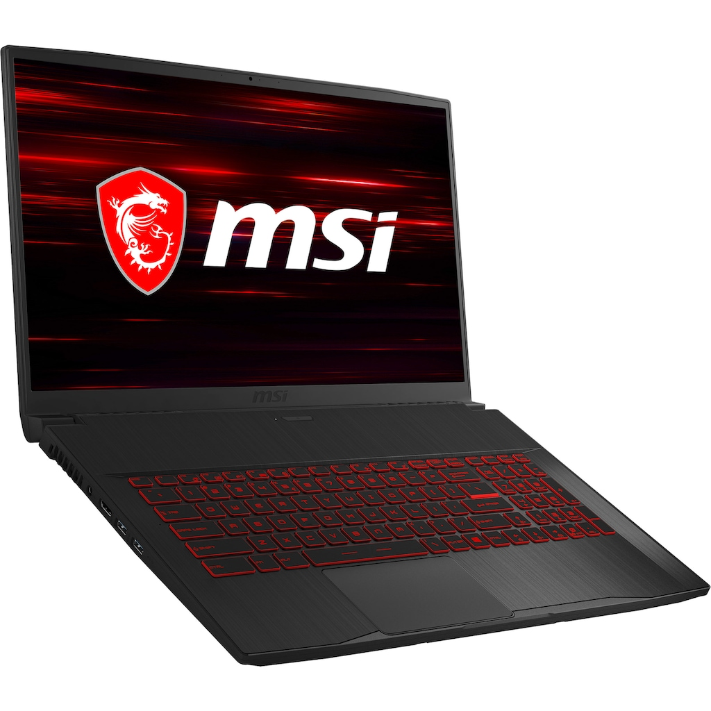 "MSI Gaming-Notebook »GF75 10SCXR-099 - 0017F4-099«, (43,9 cm/17,3 "" Intel Core i7 GeForce\r\n 1000 GB HDD 256 GB SSD)"