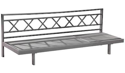 MERXX Gartenliege »Artessa«, Alu/Textil, verstellbar, inkl. Auflage kaufen
