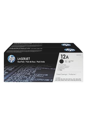 HP Doppelpack Druckkassetten 12A kaufen