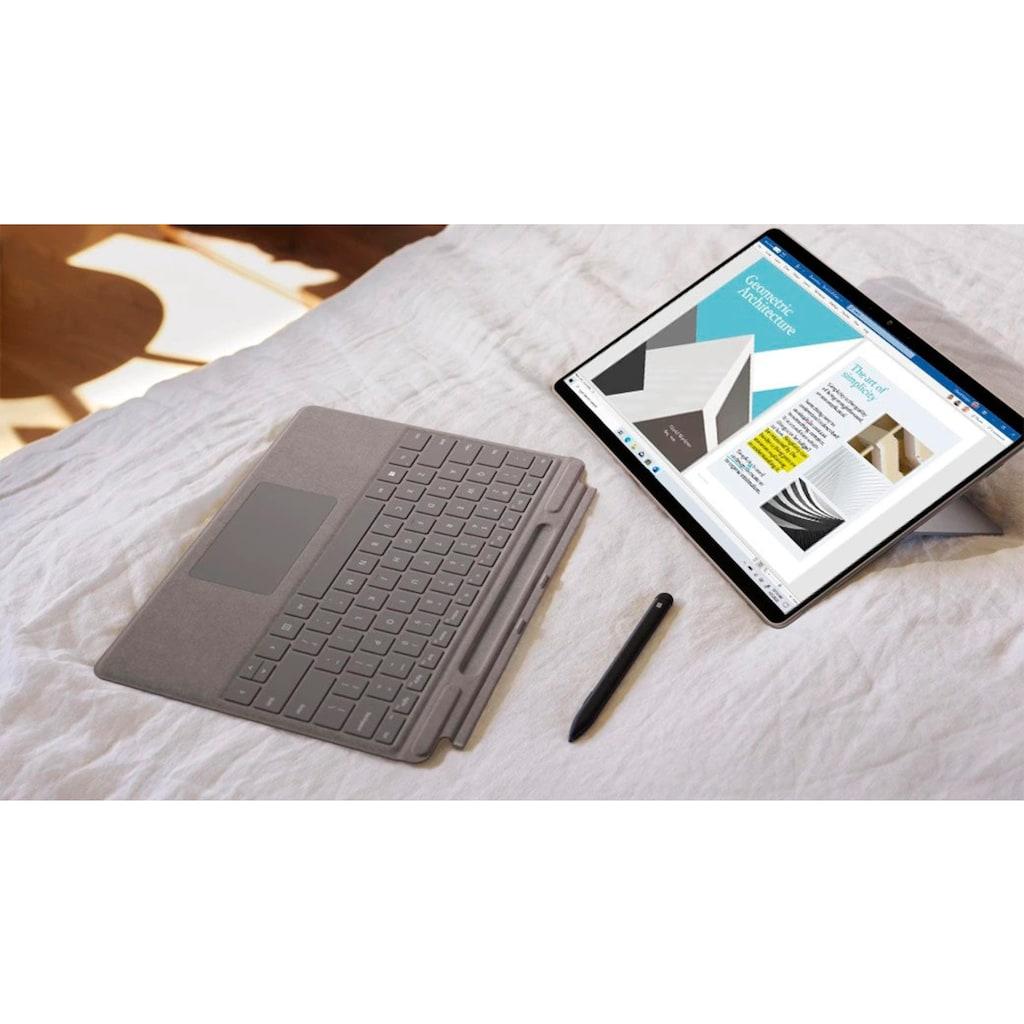 "Microsoft Convertible Notebook »Surface Pro X 13 - 512/16GB Platin«, (33,02 cm/13 "" Qualcomm SQ 1 Adreno 685 GPU\r\n 512 GB SSD)"