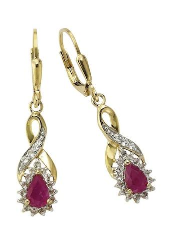 Firetti Paar Ohrhänger »Tropfen/Unendlicheitsschleife/Infinity« kaufen