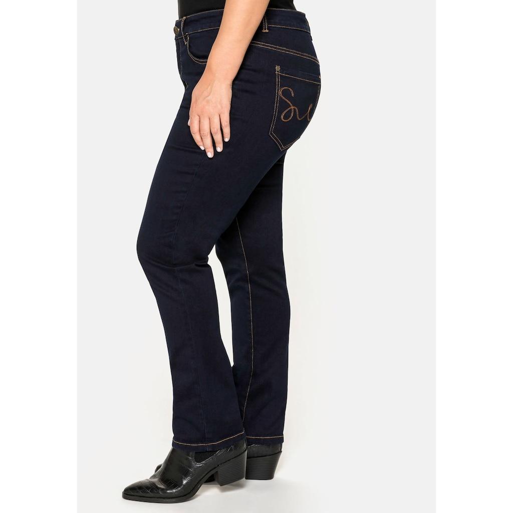 Sheego Stretch-Jeans, im 5-Pocket-Stil