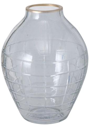 BOLTZE Tischvase »Novera«, aus Glas, Höhe ca. 11 cm kaufen