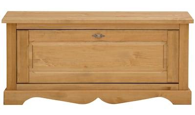 Home affaire Schuhbank »Teo«, aus massiver Kiefer, 120cm breit kaufen