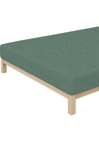 Schlafgut Spannbettlaken »Donegal«, passend zu Bettwäsche und Kissenbezug kaufen