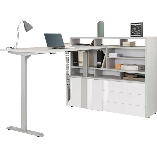 Maja Möbel Computerschrank »eDJUST MINIOFFICE 5509«