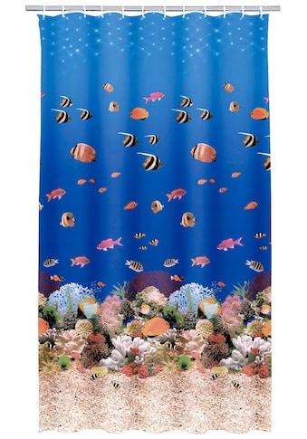 Kleine Wolke Duschvorhang »Aqua«, Breite 180 cm, Höhe 200 cm, inkl. Besfestigungsringen kaufen