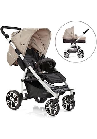 Gesslein Kombi-Kinderwagen »S4 Air+, Weiß/Camel & Babywanne C3 Camel/Black« kaufen