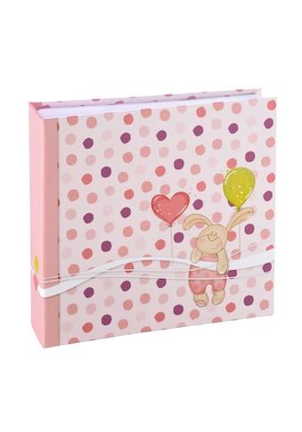 Hama Memo-Album Kleiner Hase, für 200 Fotos in Format 10x15 cm, Pink kaufen
