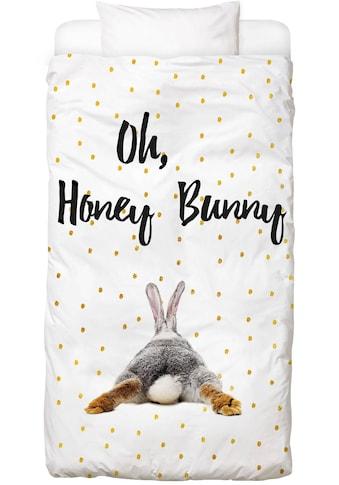 Juniqe Bettwäsche »Honey Bunny«, In vielen weiteren Designs erhältlich kaufen