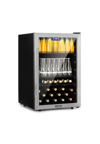Klarstein Getränkekühlschrank 148L A+ Glas Edelstahl kaufen