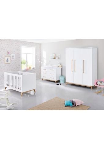 Pinolino® Babyzimmer-Komplettset »Riva«, (Set, 3 St.), extrabeit groß; mit Kinderbett,... kaufen