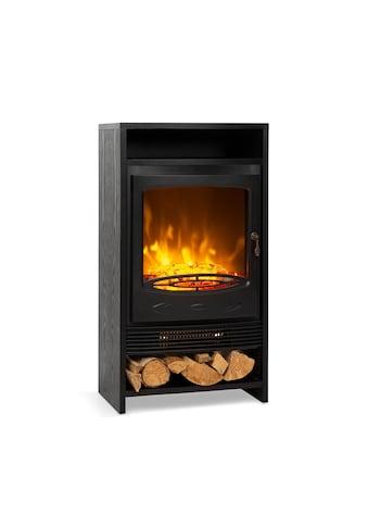 Klarstein Klarstein Bergamo Elektrischer Kamin 900/1800W Thermostat Holzop »FP1 -  Bergamo« kaufen