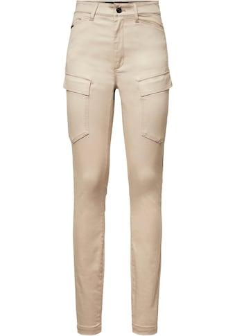 G-Star RAW Cargohose »High G-Shape Cargo Skinny Hose«, tiefe Pattentaschen m.... kaufen