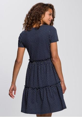 AJC Sommerkleid »Sommerkleid mit Kurzärmel und Volant«, in verschiedenen Druck-Designs... kaufen