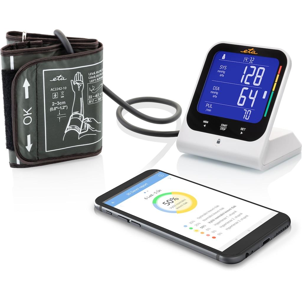 eta Oberarm-Blutdruckmessgerät »TMB-1583-BS ETA429790000«, Nutzung mit SMART App Medm BP