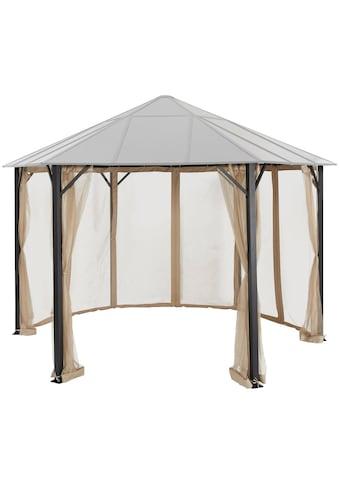 KONIFERA Pavillonseitenteile »Costa Brava«, für 350x350 cm, beige kaufen