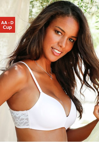 LASCANA Bralette-BH »»perfect basic««, ohne Bügel, mit nahtlos vorgeformten Cups kaufen