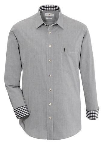 Almsach Trachtenhemd, im Karo-Design kaufen