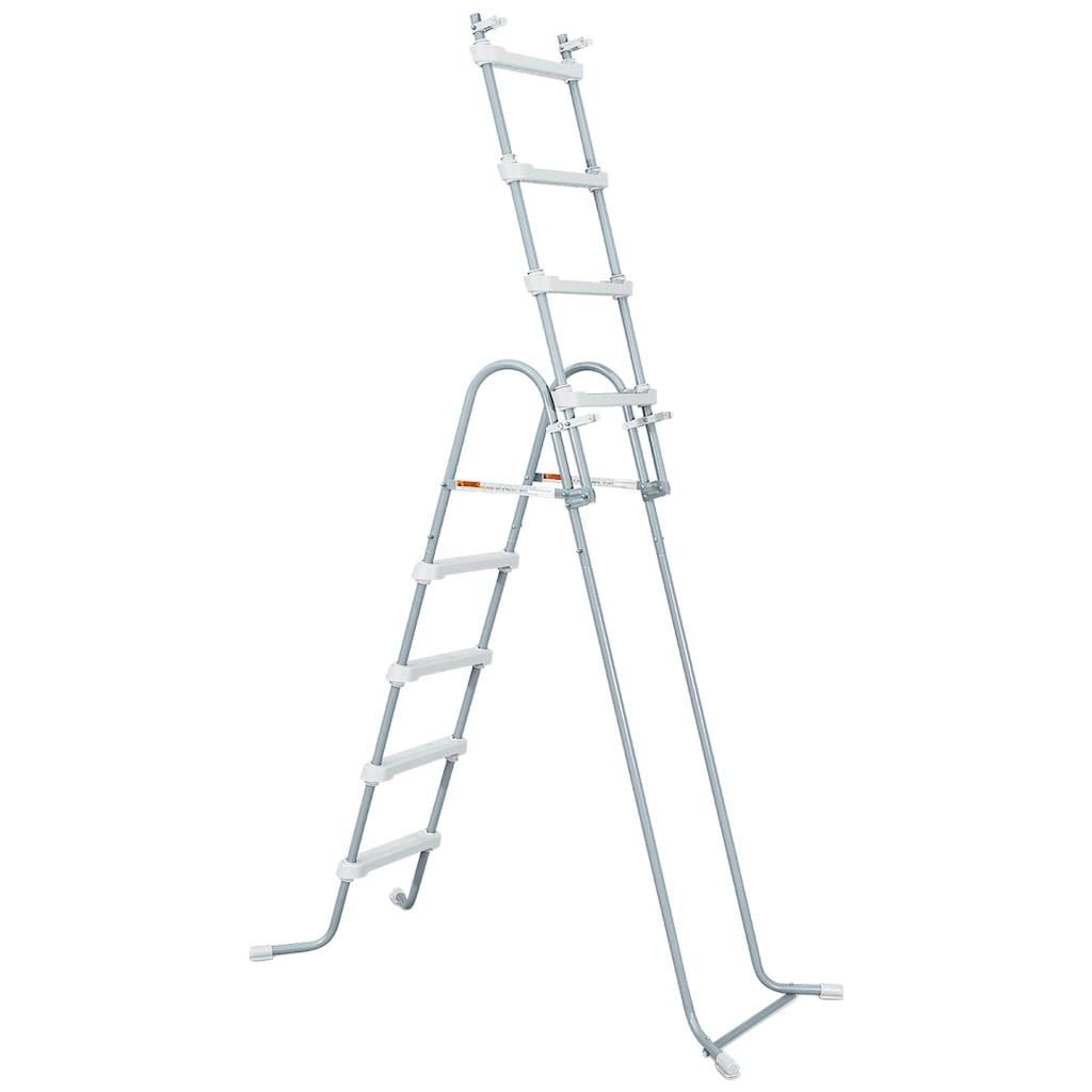 SummerWaves Rechteckpool »Elite«, (Set, 6 tlg.), BxLxH: 366x732x132 cm