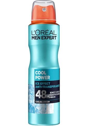 L'ORÉAL PARIS MEN EXPERT Deo-Spray »Cool Power«, mit 48H Cooling-Effekt kaufen