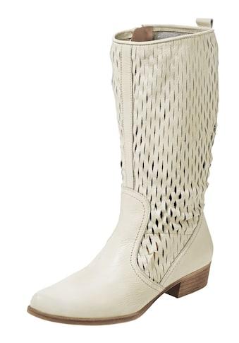 Stiefel mit Cut-Effekt kaufen