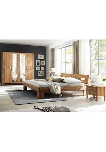 Home affaire Schlafzimmer-Set »Modesty I«, (Set, 4 St.), mit 4-türigem Schrank,... kaufen